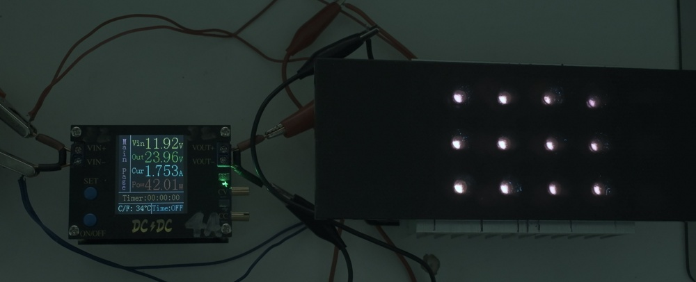 Attached Image: 2021 07 14-1, 40w UVB 309nm LEDs with 5mm U325c.jpg